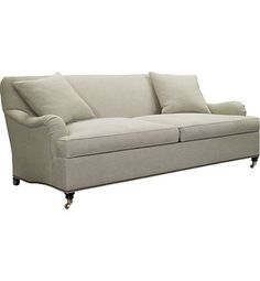 Silhouettes Made To Measure English Arm Sofa from the Silhouettes collection by Hickory Chair Furniture Co.