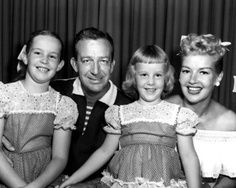 Harry James and Betty Grable with children