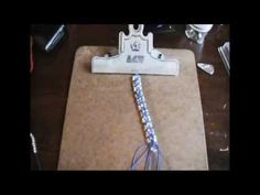 DIY 8 Strand Micro Macrame Bracelet Update - http://mysilverjewelry.org/anklets/diy-8-strand-micro-macrame-bracelet-update/