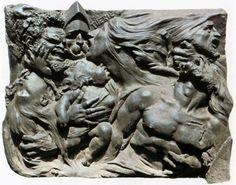 78. Auguste Preault. 'Tuerie (Slaughter)' 1834. Prima el expresionismo y nos retrotrae a la escultura medieval.