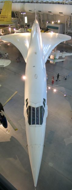 Air France Concorde (F-BVFA) @ National Air and Space Museum, Washington DC. Photo by Steve9119@pinterest