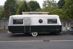 Eriba Titan,  biggest Touring model from Hymer-Eriba