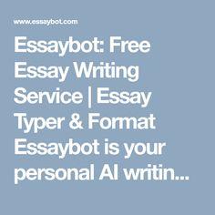 essay bot (essaybot) on Pinterest