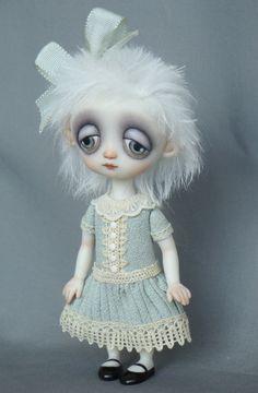 Peggy - Miniature porcelain doll