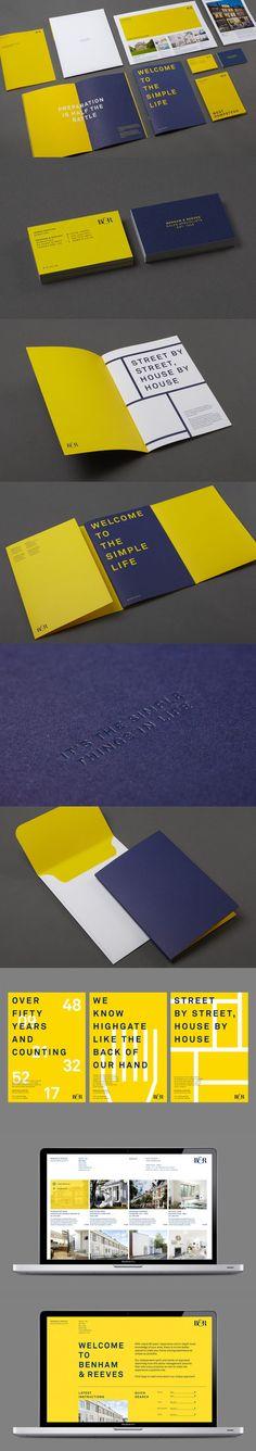 Brand Identity & Development - www.behance.net/gallery/Benham-Reeves-Identity/6876131