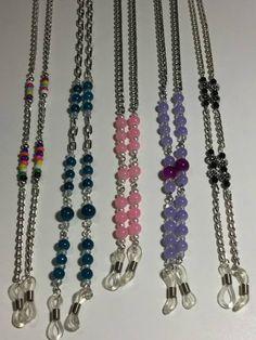 Beaded Shoes, Beaded Jewelry, Beaded Necklace, Knit Bracelet, Beaded Lanyards, Eyeglass Holder, Glass Necklace, Jewelery, Jewelry Making