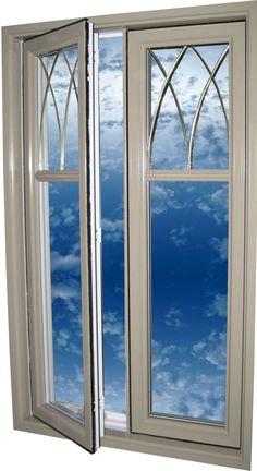 Porte avec ouvrant vitr grille en font partie vitr e for Fenetre nouvel horizon