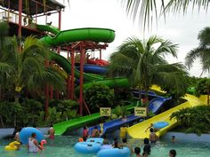 Pantai Cermin Themepark: Biggest Water Themepark in North Sumatra #Medan #Indonesia #Blog