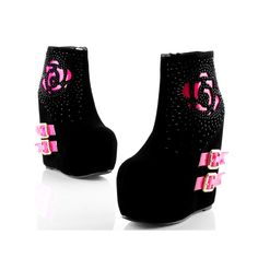 Women Boots Rhinestone Belt Buckle Boots Height Increasing 16CM Shoes European and American Fashion Style