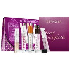 Sephora Favorites - Perfume Sampler For Her #sephora