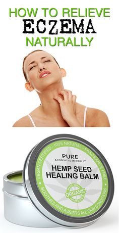 Avoid chemical compounds and steroidal drugs that can exacerbate dry skin. This natural eczema treatment cream is made with organic hemp seed oil - the plant's kingdom's answer to eczema-free skin. This all natural skin care remedy is available now at Amazon http://www.amazon.com/gp/product/B00E9IQUK8