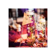 Vases carrés, vases tubes, vases hauts, longs et fins, pour tous ces types de vases là, une option s'offre a vous, des bougies flottantes grande taille. Grace a leur gros diametre, ces bougies sero…