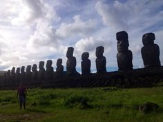 "Hanga Roa in Región de Valparaíso, Easter Island. - ""Gum gum. You give me gum gum?"""
