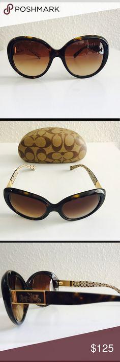 Coach Sunglasses Beautiful Coach Sun glasses. Excellent condition. With case Coach Accessories Sunglasses