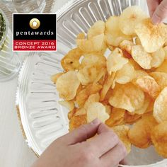 The world's leading packaging design competition. This globally accredited award is the definitive symbol of creative excellence in packaging. The edition of Pentawards will begin on 10 February Design Competitions, Potato Chips, Packaging Design, Snack Recipes, Concept, Breakfast, Food, Snack Mix Recipes, Morning Coffee