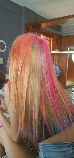 Mermaid hair....