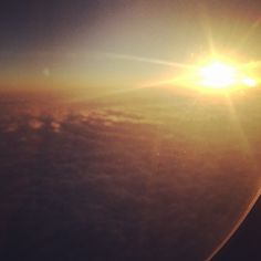 Let's go to #china. #sky #travel #sun #sunset #clouds #beautiful