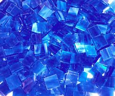 Blue Craft Glass & Mosaic Tiles for sale Mosaic Tiles For Sale, Glass Mosaic Tiles, Blue Crafts, Blue Stain, Green Copper, Blue Aesthetic, Shades Of Blue, Stained Glass, Bright
