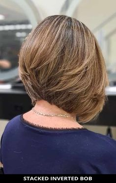 Rock this incredible stacked inverted bob if you want a modern style! Need more inspiration? Here are the 28 most incredible stacked bob haircuts. // Photo Credit: @carlosferreirahairstyle on Instagram Stacked Inverted Bob, Stacked Bobs, Stacked Bob Hairstyles, Latest Hairstyles, Bob Haircuts, Graduated Bob, Photo Credit, Hair Cuts, The Incredibles