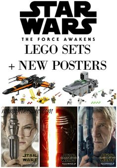LEGO Star Wars: The Force Awakens Sets + New Star Wars: The Force Awakens Posters that are perfect for printing! Catch it in theaters on 12/18!