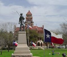 "Texas Revolution Memorial in Gonzales, Texas ""Come And Get It!"""