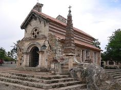 Old Stone Church In Dominican Republic. #DomRep #Caribbean