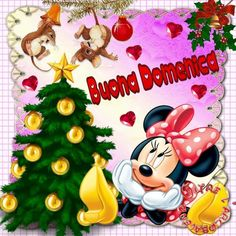 Immagine di Buonanotte da Scaricare Gratis - BuongiornoSpeciale.it Good Morning, Minnie Mouse, Disney Characters, Fictional Characters, Christmas Ornaments, Wallpaper, Holiday Decor, Gif, Facebook