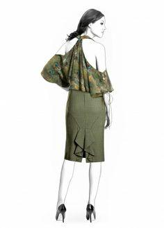 Lekala Sewing Patterns - Skirt pattern