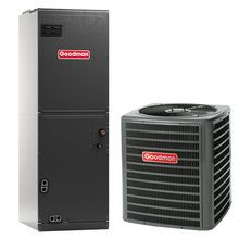 Goodman Gsz140361 Aruf37d14 3 Ton 14 Seer Heat Pump Air Conditioner System Air Conditioning Installation Heat Pump Air Conditioner Air Conditioner Installation