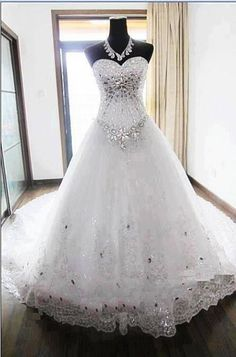 Bling Wedding Dressi Like The Top Not Really Bottom