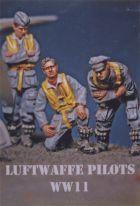 DMM 1/48 Luftwaffe Pilots Inspecting Aircraft