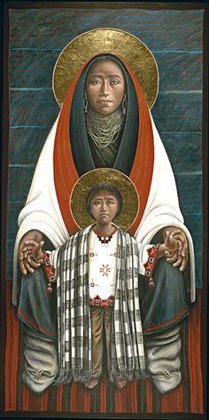 JOHN GIULIANI, Hopi Madonna & Child