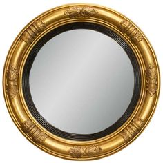 Regency Convex Bullseye Mirror | From a unique collection of antique and modern convex mirrors at http://www.1stdibs.com/furniture/mirrors/convex-mirrors/