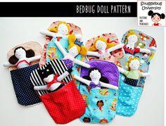 Snugglebug University: Introducing the Bedbug Doll Pattern!