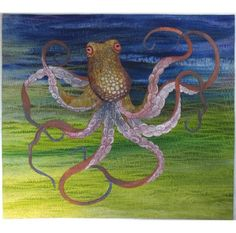 firstly, octopi are aliens. secondly, this is some kind of awesome quilt. thirdly, I dislike intensely these description things.