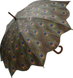 ☂ peacock umbrella