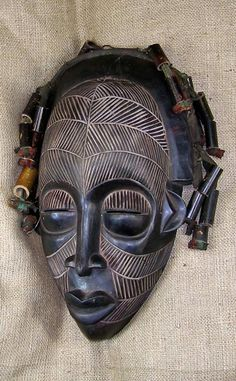 Mask from the Rastafarian people of Ethiopia