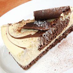 mocha cheesecake chocolate crust, version 3