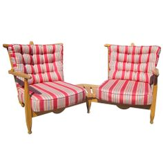 Guillerme et Chambon Settee From the Aileen Getty Collection