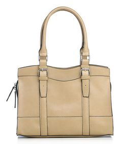 Another great find on #zulily! emilie m. Wheat Buckle Wheat Buckle Jane Satchel by emilie m. #zulilyfinds