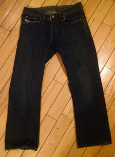 DIESEL INDUSTRY JEANS LEVAN W31 L27 BUTTON FLY in Clothing, Shoes & Accessories | eBay