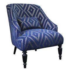 Diamond Blue Armchair - Products - Dasch
