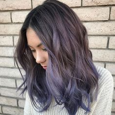 purple ombre // @carlyscissorhandss from @theassociatedhairco is the artist... Pulp Riot is the paint.