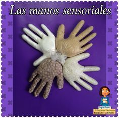 Table top, touch and feel. Fill a rubber gloves with a vatiety of textures. Must be supervised at all times Senses Activities, Montessori Activities, Infant Activities, Preschool Activities, Sensory Bags, Sensory Play, Decoration Creche, Baby Games, Early Childhood Education
