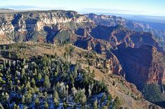 Grand Canyon DEIS Aerial: Point Imperial & Mount Hayden by Grand Canyon NPS, via Flickr