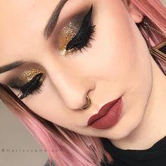 #eyeMakeup #eyemakeupsteps #eyemakeuptips #smokeyeyemakeup #eyemakeupforbigeyes #simpleeyemakeup #eyemakeupimages #eyemakeuplooks #eyemakeupsmokey #eyemakeuppictures #eyemakeupphotos Eye Makeup Pictures, Charming Eyes, Smokey Eye Makeup, Makeup Inspo, Hair Beauty, Instagram Posts, Jewelry, Glitters, Septum