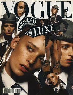 Ann Catherine Lacroix by Inez and Vinoodh for VOGUE Paris October 2002  | Stylist Marie-Amélie Sauvé | Hair Jimmy Paul | Make up artist Lisa Butler.