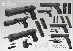 Commission: HK-47 by aiyeahhs.deviantart.com on @deviantART