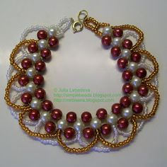 FREE RAW BEAD BRACELET TUTORIAL featured in Bead-Patterns.com Newsletter!