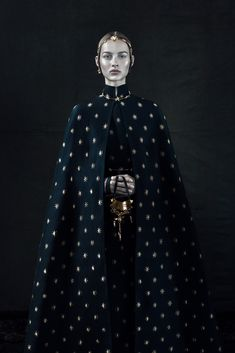 Valentino Haute Couture Fall/Winter 2015.16, Interview Magazine October 2015, ph: Fabien Baron, m: Maartje Verhoef